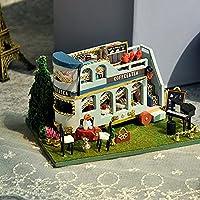 DIY小屋小型車モデルDIY小屋ハンドメイドの木製の誕生日クリスマスプレゼント (Color : TC8-3)