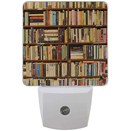 Katrine Store Nachtlicht Bücherregale Auto Senor Abenddämmerung bis zum Morgengrauen Led-Lampe für Flur, Küche, Bad, Schlafzimmer, Treppe