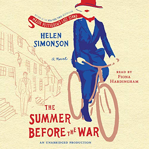 The Summer Before the War     A Novel              By:                                                                                                                                 Helen Simonson                               Narrated by:                                                                                                                                 Fiona Hardingham                      Length: 15 hrs and 47 mins     1,759 ratings     Overall 4.2