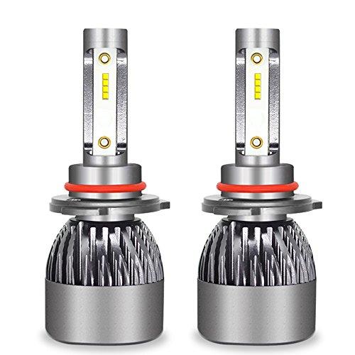 Kit D'ampoules De Phare De Voiture De LED - Kit De Conversion D'ampoules De Kit De Phare De Hi/Lo LED 12V / 24V Remplacent Pour Des Lampes D'halogène,9005
