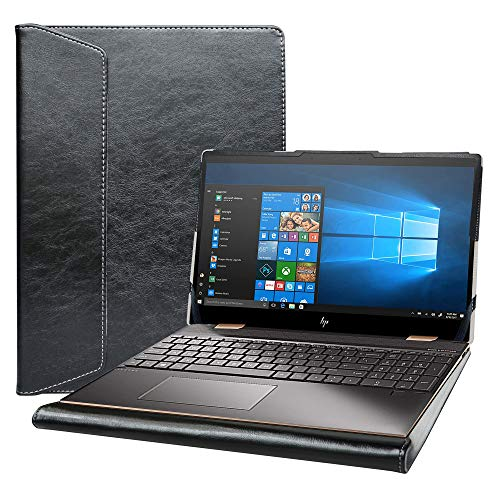 Alapmk Diseñado La Funda para 15.6' HP Spectre x360 15-ebXXXX 15-EB0053DX 15-EB0043DX Series Laptop[No Compatible con: Spectre x360 15-blXXXX 15-chXXXX 15-dfXXXX 15-apXXX],Negro