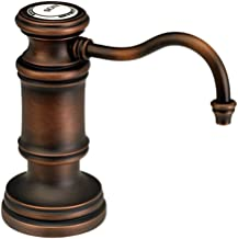 product image for Waterstone 4060DAMB Traditional Deck Mount Soap Dispenser, Distressed American Bronze