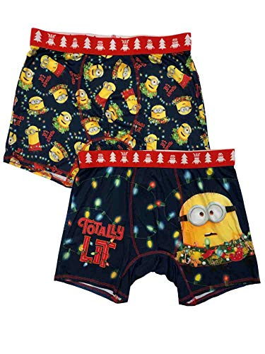 Men's Minions Totally Lit Performance Boxer Brief 2...