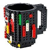 GOODS+GADGETS Build on Brick Mug Bausteine Kaffeetasse - Bausteine Tasse Bauklötze Kaffee-Becher...