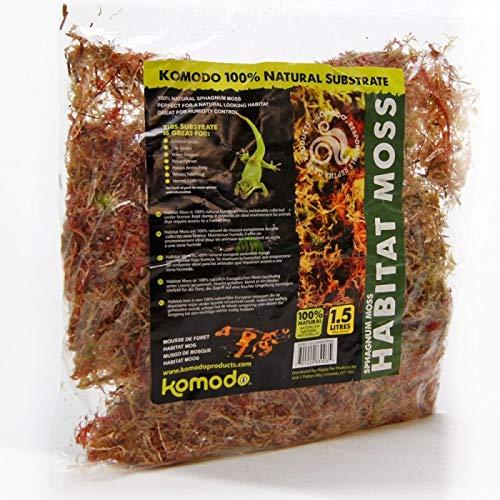 Komodo Habitat Moss, 1.5 L