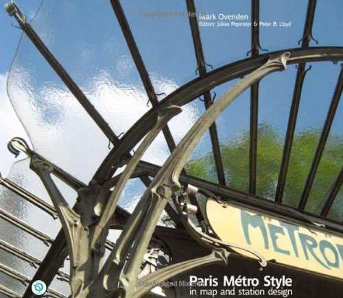Paris Metro Style: In Map and Station Design