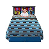 Franco Kids Bedding Sheet Set, 4 Piece Full Size, Five Nights at Freddy's