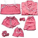 LEYUANA Conjunto de Pijamas de 7 Piezas / Set para Mujer, Pijama de Primavera de algodón, Camisa Larga Femenina Sexy XL Style2