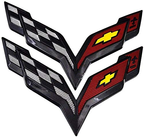 corvette flag emblem - 3