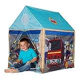 John 78203–Bomberos Casa Sam–Parte Tienda, Bomberos, niños Tienda, casa de Juguete con Impreso de diseño para niños