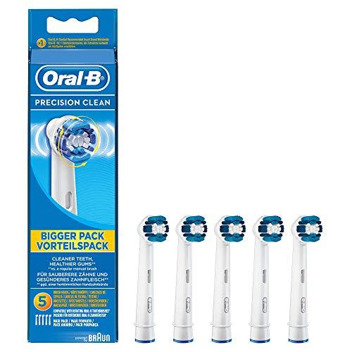 Oral-B Precision Clean - Cabezal de recambio para cepillo de dientes eléctrico,...