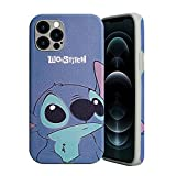 Perfectly Fits for iPhone 12 Pro Max: Classical Mickey & Minnie Mouse & Stitch Character designed for iphone case perfectly fits for iPhone 12 Pro Max[6.7 Inch]; Compatible with wireless charging. Fashional style, cool charater & practical case cover...