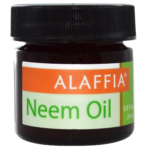 Alaffia - Handcrafted Neem Oil, Helps Moisturize and Protect from Dry, Itchy, Chapped Skin with Antioxidant Rich Unrefined Neem Oil, Fair Trade, Vegan, No Parabens, No Animal Testing, 0.8 Ounces