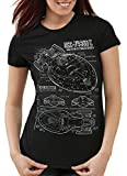 style3 NCC-74656 Voyager T-Shirt Damen Trek Trekki