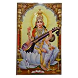 XL Poster Sarasvati 146 x 96 cm Gottheit Hinduismus