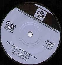 PETULA CLARK - SONG OF MY LIFE - 7 inch vinyl / 45 record