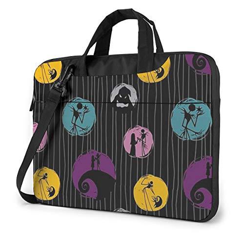14 Inch Laptop Bag Jack Nightmare Before Christmas Laptop Briefcase Shoulder Messenger Bag Case Sleeve