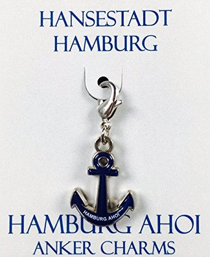 Menk Souvenirs Hamburg Anhänger Hamburg AHOI (Anker)