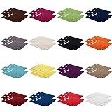 4er Pack zum Sparpreis, Frottier Handtuch-Serie - in 7 Größen und 16 Farben 100% Baumwolle 500 g/m², 4er Pack Seiftücher (30x30 cm) in Anthrazit-Grau