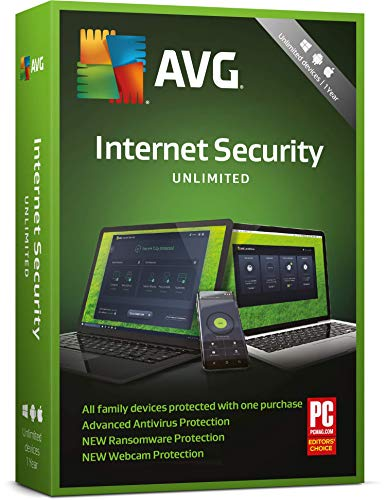 PREMIUM OFFER @16.79 AVG Internet Security UNLIMITED 1 year - 2018, Delivery on same day via Amazon Message - Download software link and Activation key