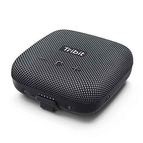 Portable Speaker, Tribit StormBox Micro Bluetooth Speaker, IP67 Waterproof & Dustproof Outdoor Speaker, Bike Speakers with Loud Sound, Advanced TI Amplifier, Built-in XBass, 100ft Bluetooth Range