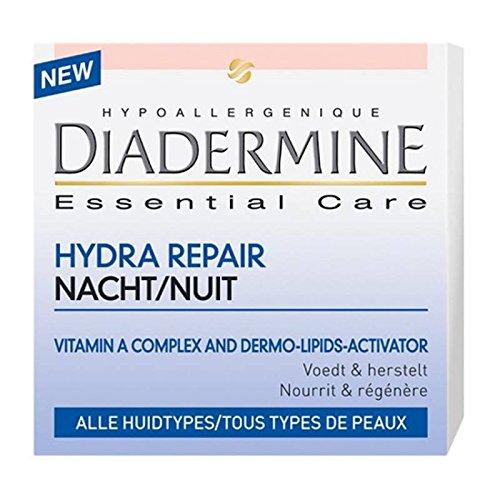 Diadermine Anti Rides Hydra Repair Tous Types de Peaux Nuit