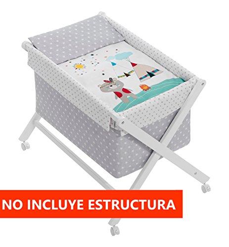 Vestidura Minicuna Tijeras Oso Indio (No Incluye Estructura)