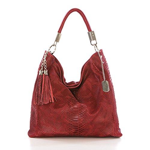 Anna Morellini , Sac pour femme à porter à l'épaule Rouge rouge