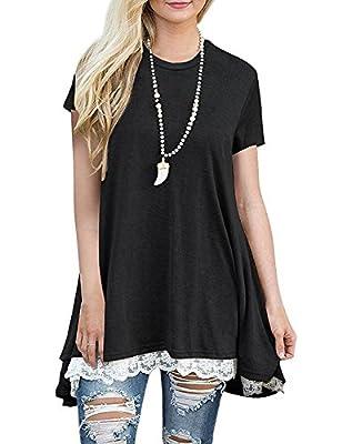 ASCHOEN Women's Casual Long Sleeve Plain Maxi Dress With Pockets