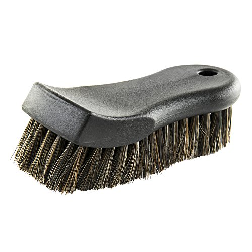 Chemical Guys ACCS96 fl. oz Premium Select Horse Hair Interior Cleaning Brush for Leather, Vinyl, Fabric and More