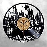shiyueNB Disco de CD Reloj de Pared de Vinilo Reloj de Vinilo del Mundo Moderno Reloj de Pared clásico Reloj de Pared