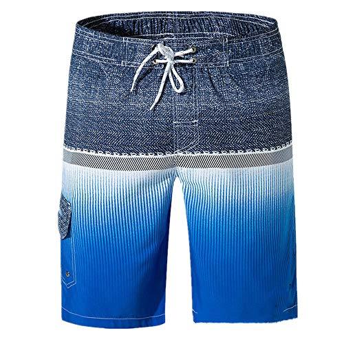 N\P Pantalones de playa para hombre de verano pantalones de surf casuales pantalones cortos de impresión grandes pantalones