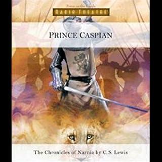 Prince Caspian audiobook cover art