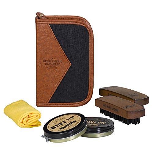 Gentlemen's Hardware Shoe Shine Kit, Black