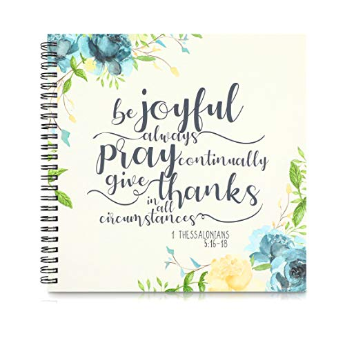 Prayer Journal, Spiral Notebook (8.8 x 8.5 Inches)