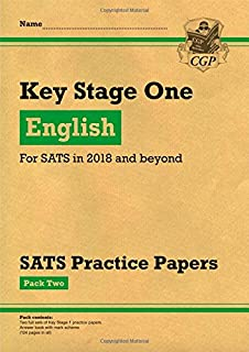 KS1 English SATS Practice Papers: Pack 2 (for the tests in 2018 and beyond)