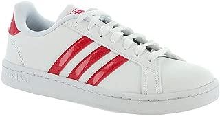 adidas Women's Grand Court White/Active Pink/White 8.5 B US