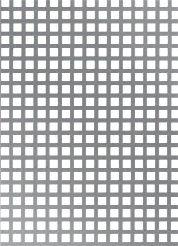 GAH-Alberts Chapa Perforada, Acero, 1000x300x1,5mm