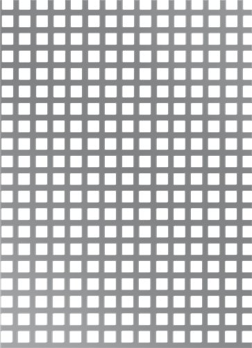 GAH-Alberts - Chapa perforada (orificios cuadrados, distancia entre orificios: 15 mm)