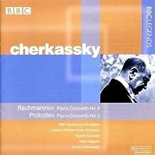 Piano Concerto 3 & 2 by Shura Cherkassky (2002-04-23)