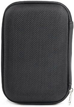tinxs Petite Housse protectrice EVA pour Disque Dur Externe Portable USB Noir 2,5 2.5
