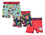 Ryans World Boys 3-Pack Underoos Boxer Briefs (X-Small) Green