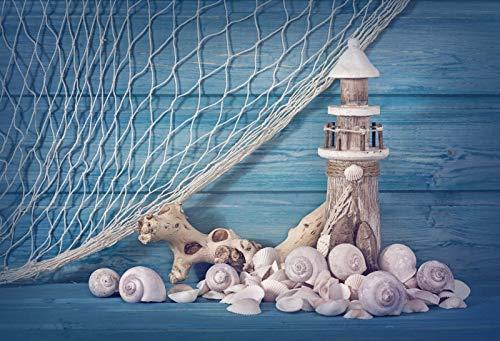 Fondos de Verano para fotografía Superficie del Agua del mar Ola Bebé Niño Fiesta de cumpleaños Fondos fotográficos escénicos Photocall A20 9x6ft / 2.7x1.8m
