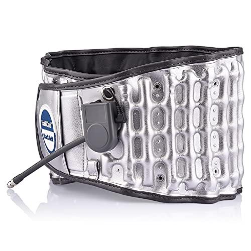 JuZi Store Lumbar Support Belt Decompression Back Belt Lower Back Brace Back Pain for Men Women, with Cushion Pad Back Belt Adjustable Spinal Waist Back Air Massage Belt