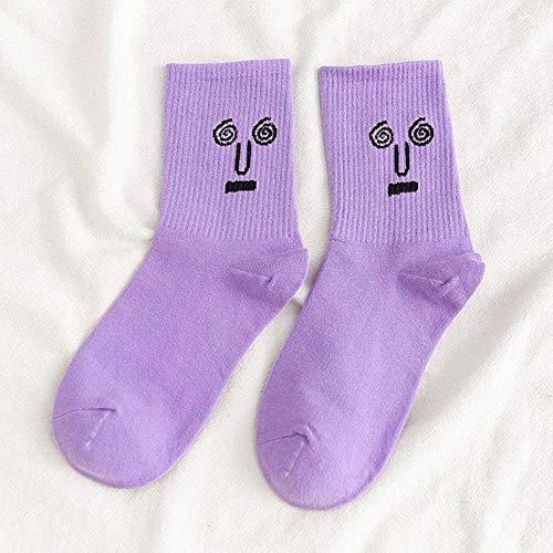 VWCDO Funky Trend Vrouwen Kleurrijke Grappige Sokken meisje sokken Surprise Mid Vrouwen Sokken