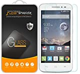 Supershieldz (2 Pack) for Alcatel Onetouch Pop Astro and Alcatel Onetouch Pixi Charm LTE Tempered Glass Screen Protector, Anti Scratch, Bubble Free