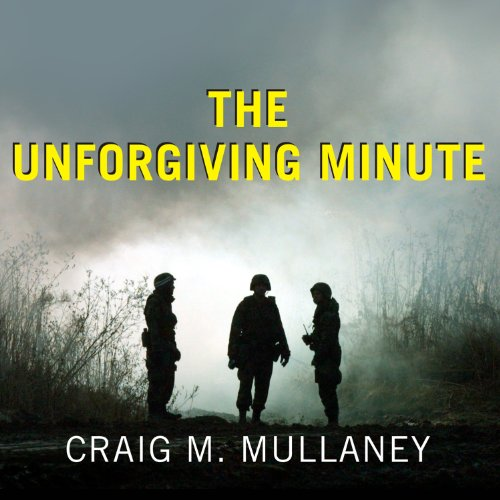 The Unforgiving Minute audiobook cover art