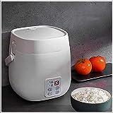 MISINIO 1.2L Mini Cuociriso Vaporiera 200W Cibo Elettrico Scatola Pranzo Scaldavivande Multifunzionale Portatile per Cucinare Porridge di Riso Incomparable
