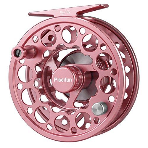 ピシファン(Piscifun)フライリール Sword 高精度CNC加工 超軽量アルミ製 5/6 ピンク