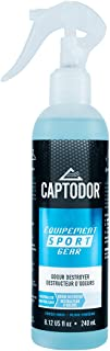 Captodor Gear Odor Destroyer Spray for Neutralizing, Destroying and Deodorizing (8.12 oz, BLUE)